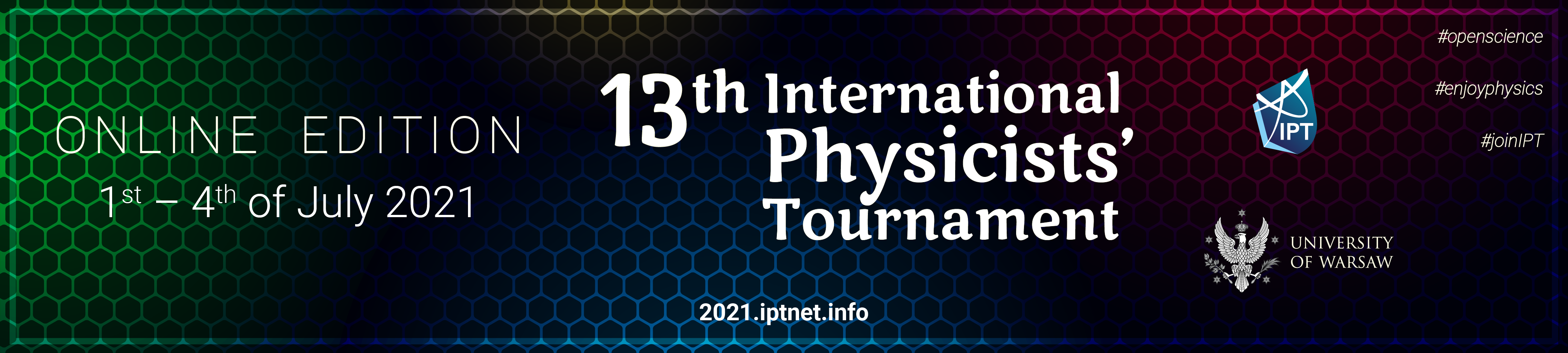 International Physicists' Tournament 2021
